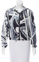 Emilio Pucci Hooded Silk Jacket
