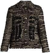 Simone Rocha Textured-tweed jacket