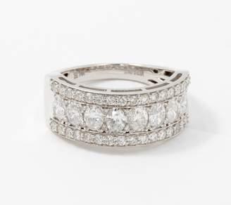 Fire Light Lab Grown Diamond 14K Gold Band Ring, 1.75cttw