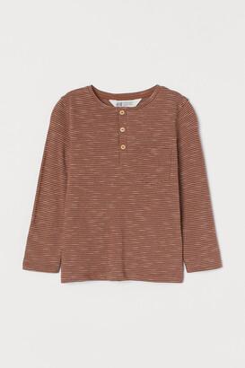 H&M Patterned Jersey Shirt