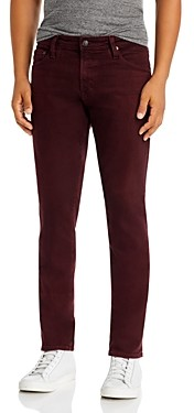AG Jeans Tellis Slim Fit Jeans in Boysenberry