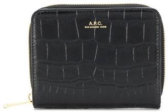 A.P.C. Emmanuelle zipped wallet