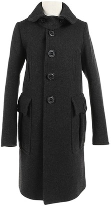 DSQUARED2 Grey Wool Coat for Women