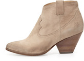 Frye Reina Ankle Boot, Stone
