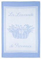 Coucke French Jacquard Cotton Kitchen Dish Towel French Table Collection, Lavande PJ Pattern, 19 by 29-Inch, Lavender