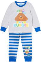 Tu clothing Grey And Blue 'Hey Duggee' Pyjama Set