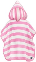 Snapper Rock Toddler Pink Stripe Hooded Towel