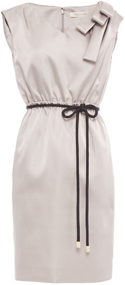 Marc Jacobs Bow-embellished Satin Mini Dress