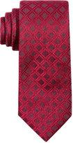 Alfani Men's Windsor Grid Slim Tie, Only at Macy's