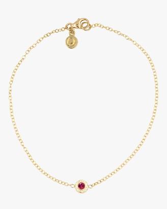 Octavia Elizabeth Ruby Nesting Bracelet