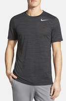 Nike Dri-FIT Touch Heathered Short Sleeve T-Shirt