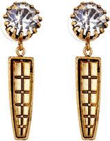 Nicole Romano Keystone Earrings