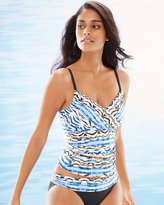 Soma Intimates Animal Instinct Convertible Tankini Swim Top