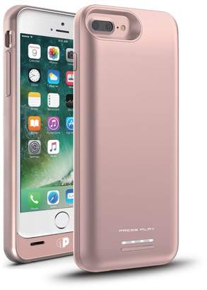 PRESS PLAY MFi Venue Battery iPhone 7 Plus/6s Plus/6 Plus Case - Rose Gold