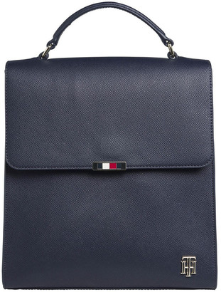 Tommy Hilfiger AW0AW08536_CJM Saffiano Flap Over Backpack