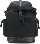 Burberry flap backpack changing bag