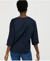 Monsoon Scarlet 100% Linen Tshirt