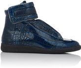 "Maison Margiela Men's ""Future"" Ankle-Strap Sneakers-NAVY"