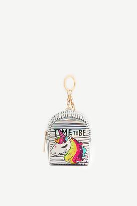 Ardene Holographic Backpack Keychain for Girls