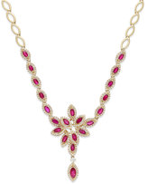 Effy Ruby Royalé by Ruby (3-1/2 ct. t.w.) and Diamond (1-1/3 ct. t.w.) Necklace in 14k Gold