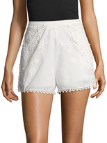 The Jetset Diaries Paradise Embroidered Shorts
