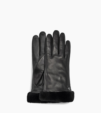 UGG Classic Leather Shorty Tech Glove