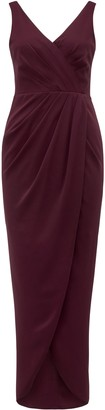 Forever New Victoria Wrap Dress - Red Shiraz - 4