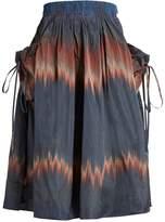 Brock Collection Stella drawstring-pocket skirt
