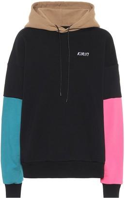 Kirin Colorblocked cotton hoodie