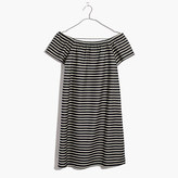 Madewell Striped Melody Off-the-Shoulder Dress