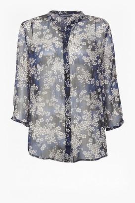 French Connection Rishiri Crinkle Shirt
