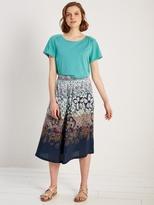 White Stuff Freesia printed midi skirt