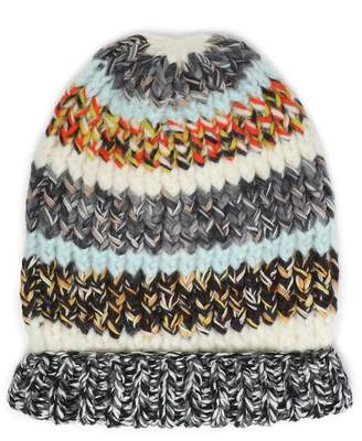 Missoni Striped Ribbed-knit Beanie
