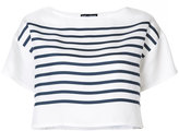 Dolce & Gabbana striped crop top