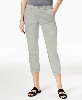 Maison Jules Slim Ankle Pants