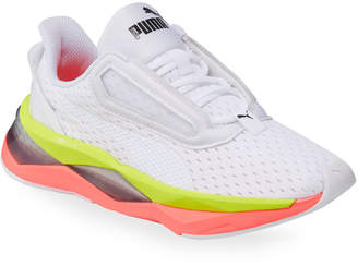 Puma Women's LQDCELL Shatter XT Sneakers, White/Pik