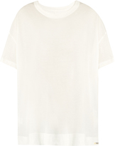 YOHJI YAMAMOTO REGULATION Oversized round-neck jersey T-shirt