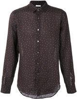 Boglioli polka dot shirt - men - Linen/Flax - 40