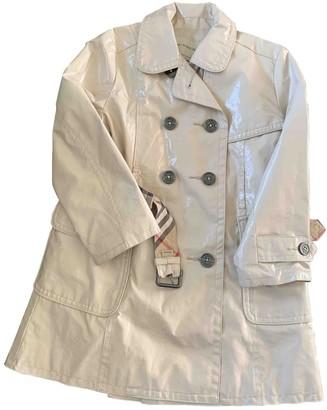Burberry Beige Cotton Jackets & Coats