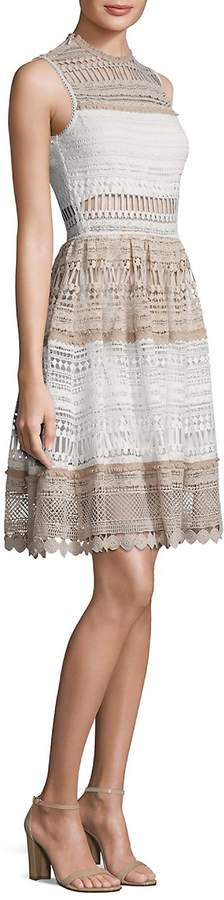 Alexis Women's Melania Tiered Lace Dress
