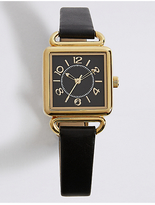 M&S Collection Square Face Watch