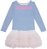Billieblush Stripe Print Tutu Dress