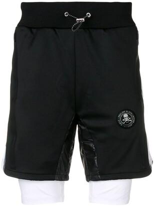 Philipp Plein XYZ Scratch shorts