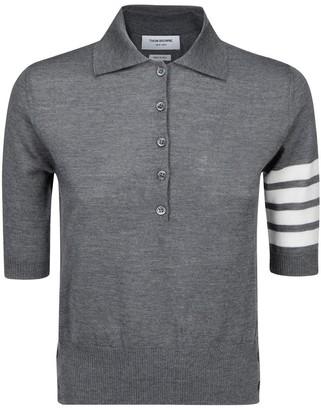 Thom Browne 4 Stripe Polo Shirt