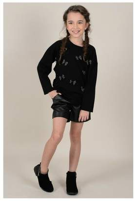 Mini Molly Scattered Bows Sweater