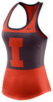 Nike Women's Illinois Fighting Illini Dri-Blend Mesh Tank Top