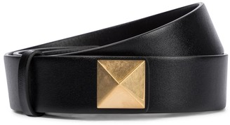 Valentino Roman Stud leather belt