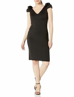 Brinker & Eliza Women's Sheath Dress with Shoulder Detail