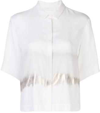 Fabiana Filippi painted short sleeve shirt