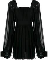 Reinaldo Lourenço long sleeves silk dress